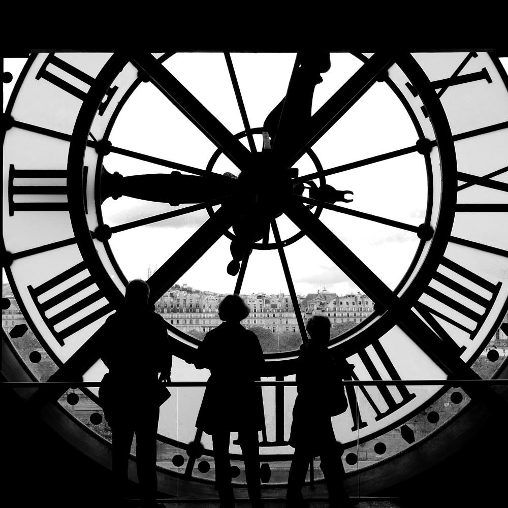 Inside the Clock – Quai D'Orsay, Paris