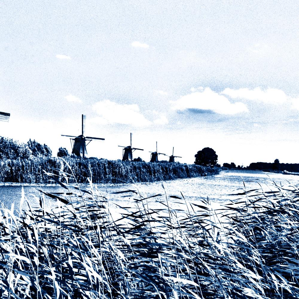 Windmills in Delft Style